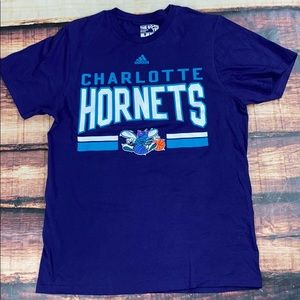 Adidas Mens Charlotte Hornets NBA Tee